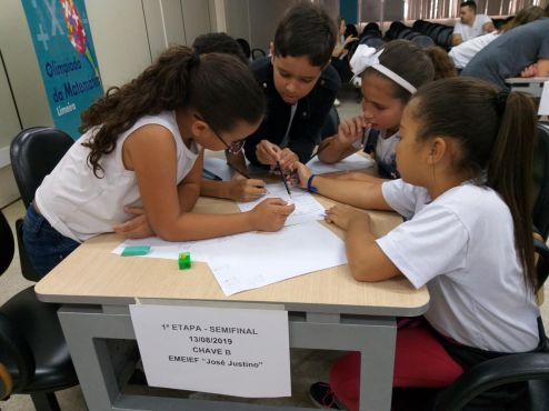 Olimpíada de Matemática em Limeira entra na etapa semifinal