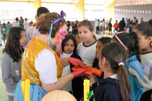 Alunos participam de programa de incentivo à alimentação saudável em Limeira