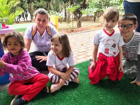 Prefeitura de Cordeirópolis promove encontro entre pais e filhos no espaço de Educação Ambiental
