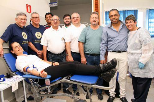 Rotary realiza mais uma Campanha de Doação de Sangue