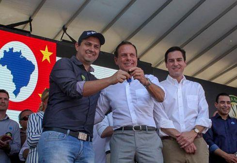 No Dia do Campo, Governo de SP entrega equipamentos agrícolas a produtores de Campinas
