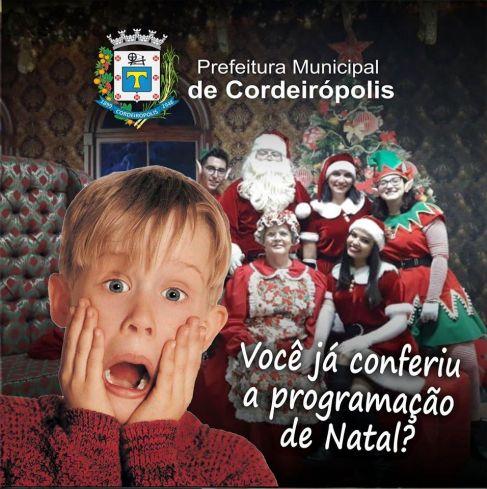 Inovação e criatividade marcarão as festividades natalinas em Cordeirópolis