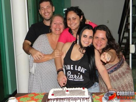 Aniversário de Adriano, Mayra, Karina, Adria e Ariane