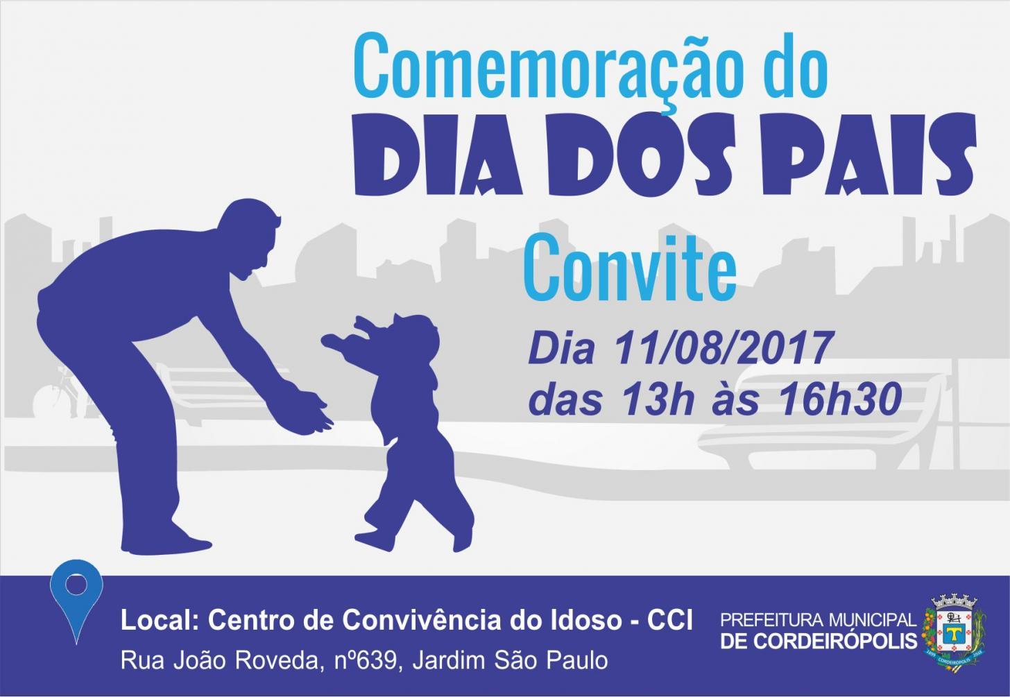 CCI realizará festa em comemoração ao Dia dos Pais