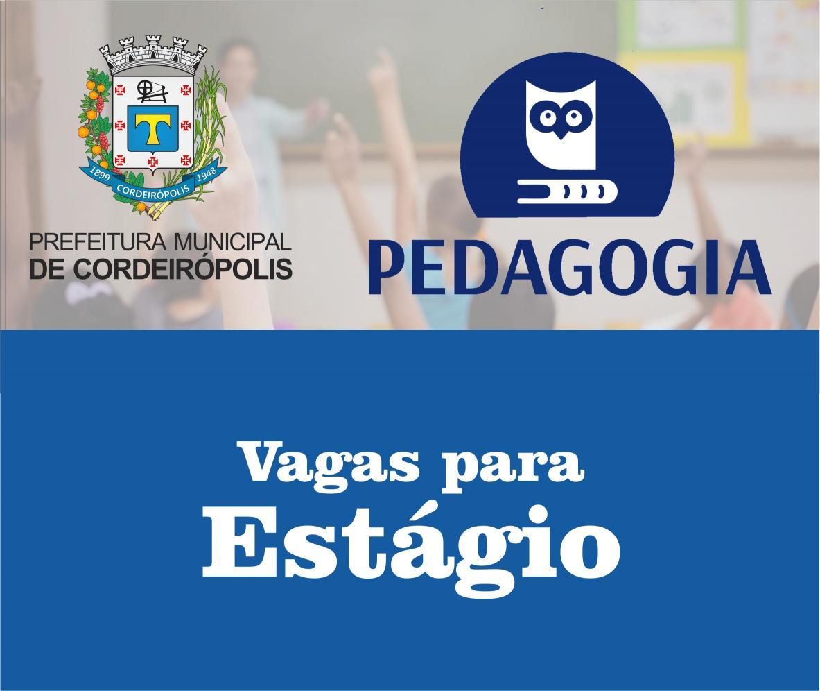 0c1b78f830 CIEE oferece estágio para estudantes de Pedagogia - Portal Cordero ...