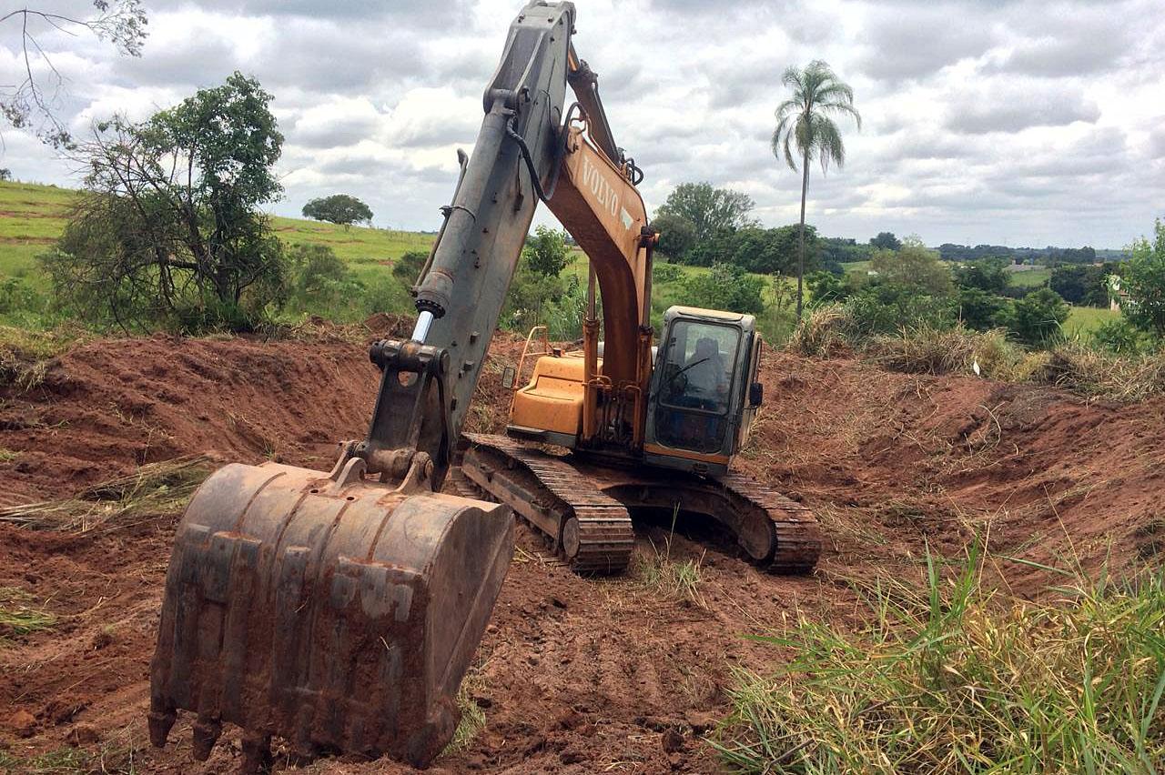 Bacias de retenção contribuem para alimentação de mananciais em Limeira