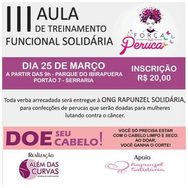 Luta contra o câncer ganhará treinamento do Além das Curvas no Parque do Ibirapuera