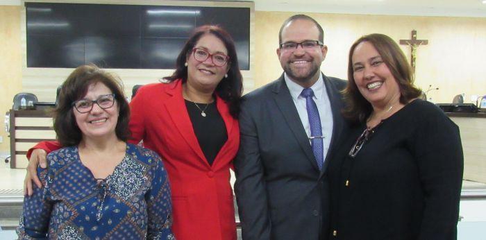 Antônia, Maria Aparecida, Ricardo, Dra. Sandra |M. Destéfani Rossi