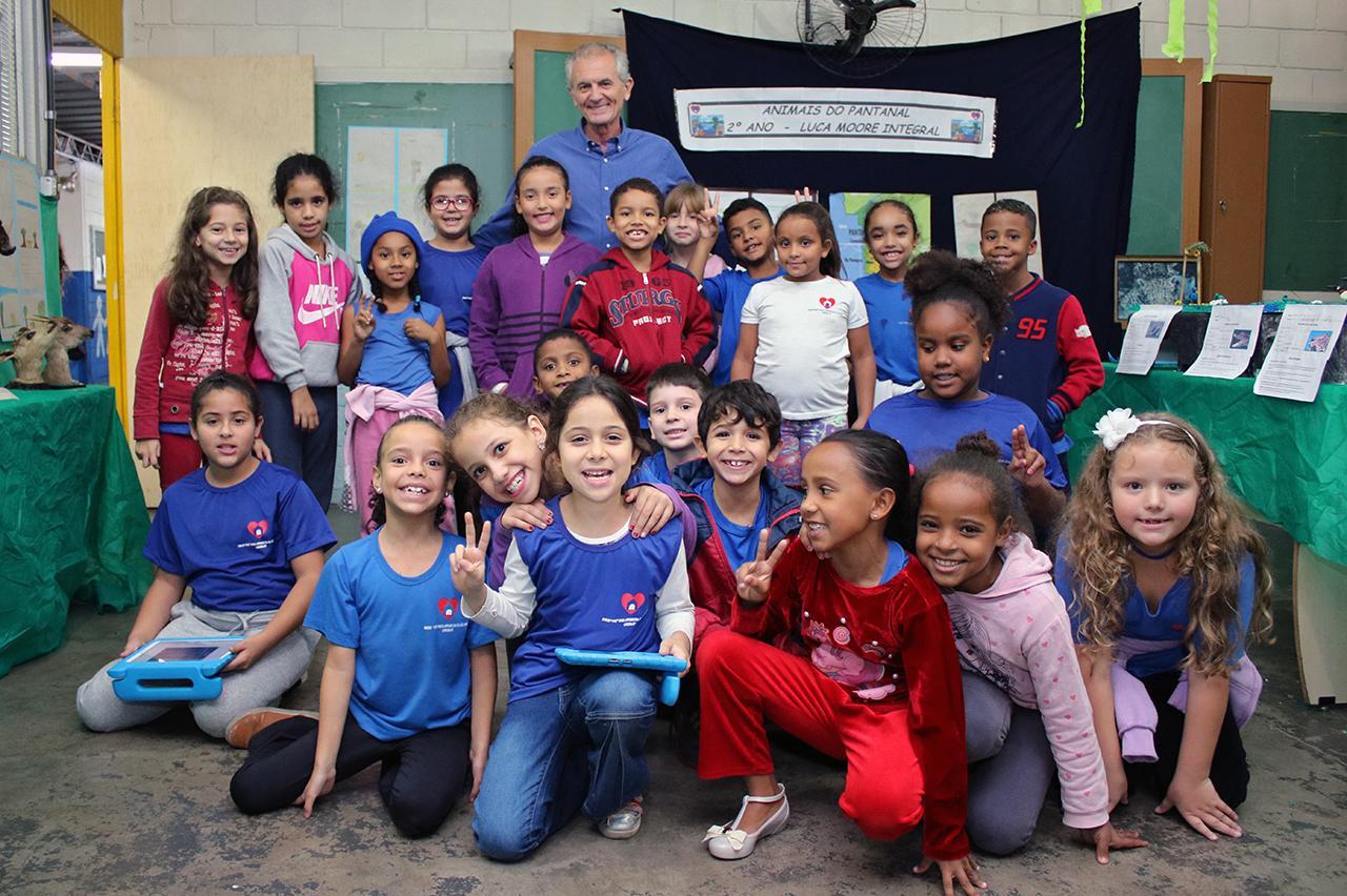 "Escola ""Luca Moore"" de Limeira apresenta projeto pedagógico sobre vida animal"