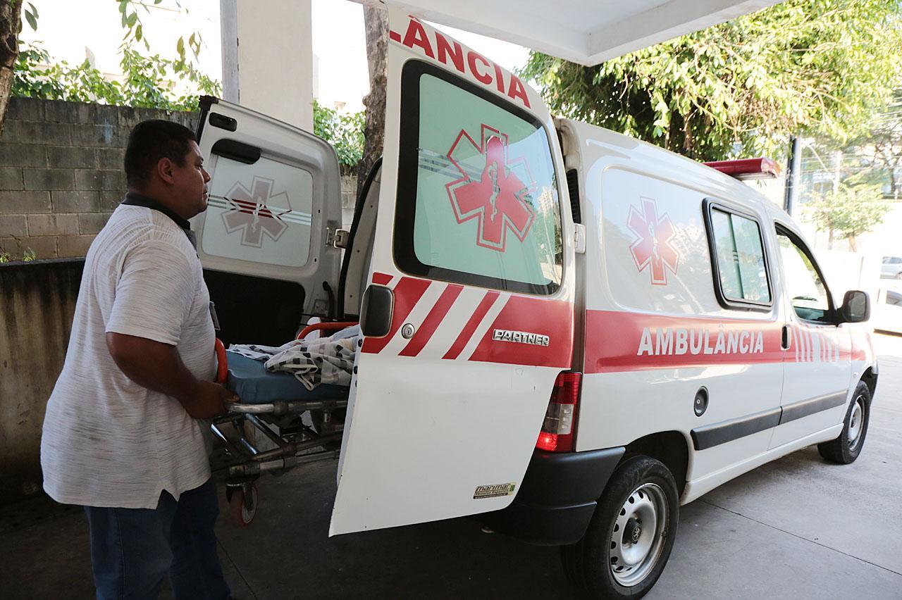 Central de Ambulâncias de Limeira contabiliza 14.160 viagens neste ano