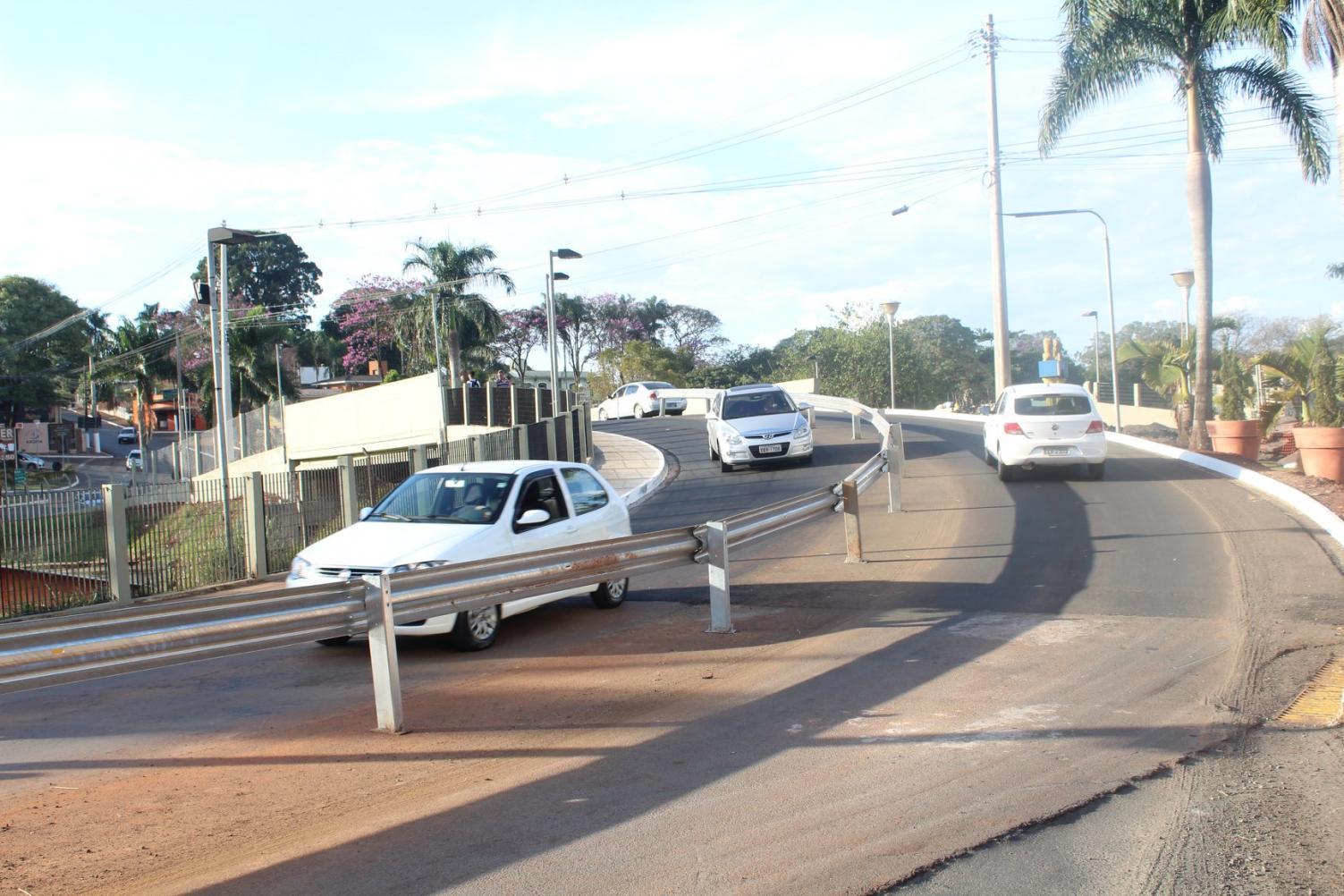 Primeiro viaduto é liberado e obras do segundo acesso são iniciadas