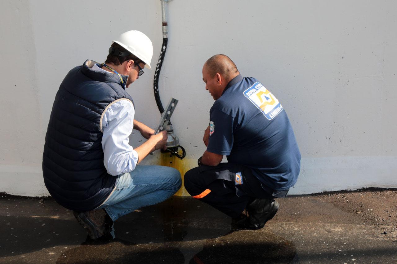 Sistema de alarme de enchentes em Limeira passa por testes