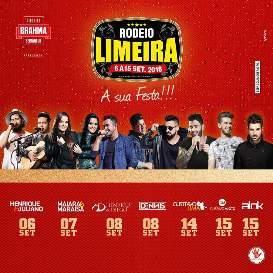 Aberta venda de ingressos para o Rodeio de Limeira 2018