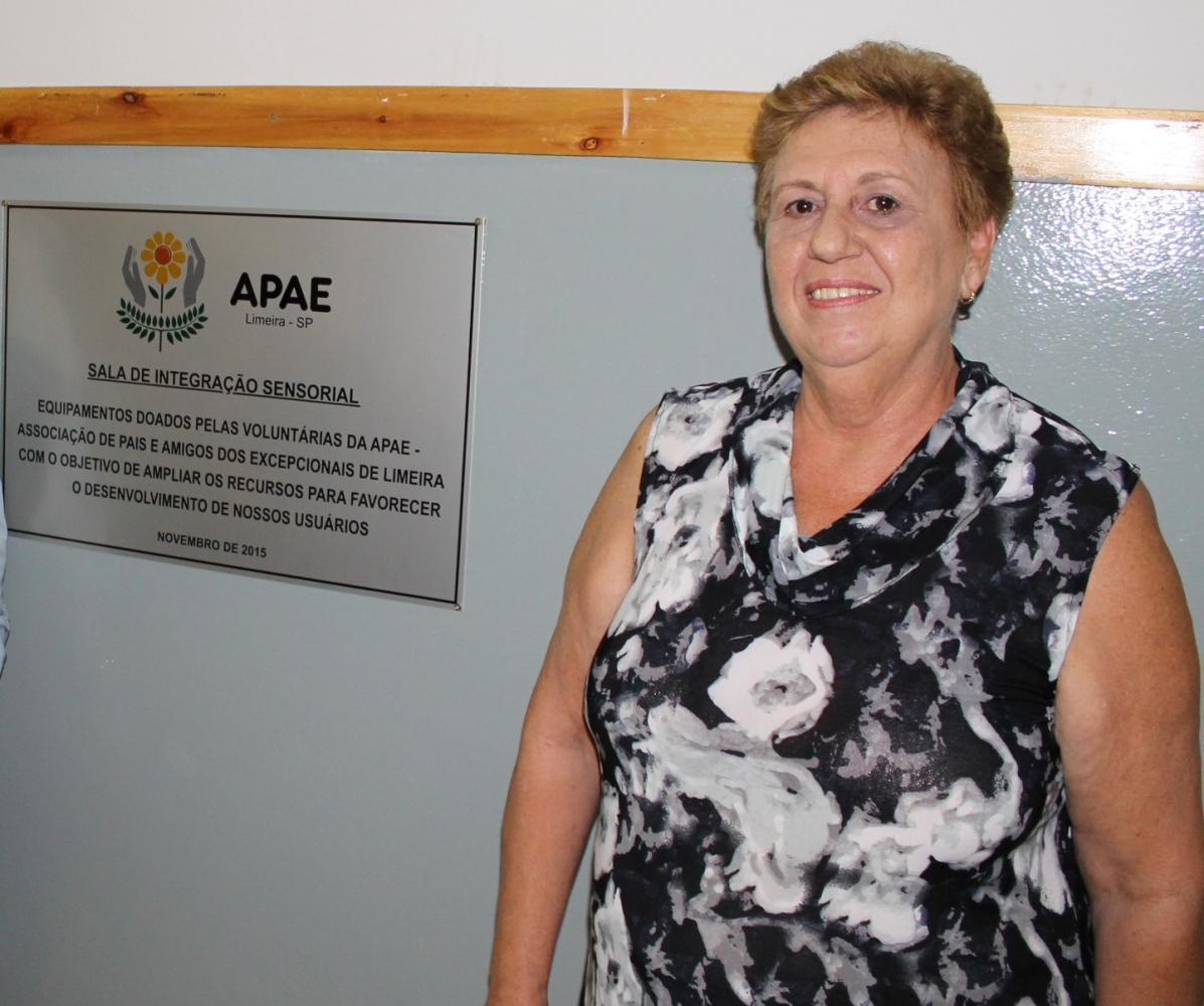 APAE Limeira comunica falecimento de Presidente das Voluntárias, Maria Rita Rossetti