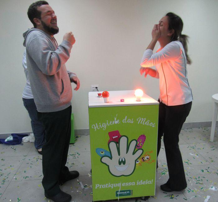 Unimed Limeira realiza a II Gincana de Prevenção de Infecção Hospitalar