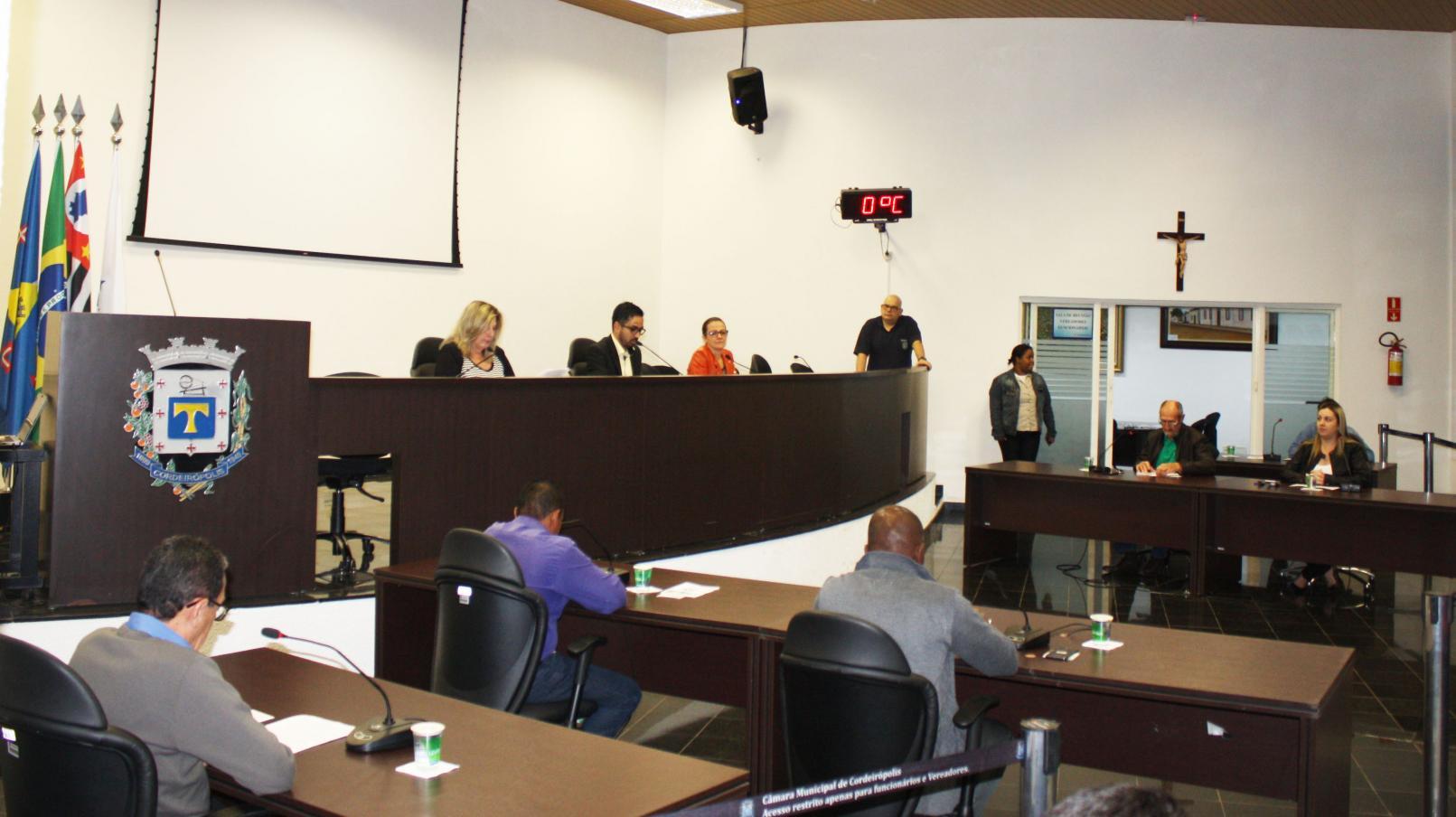 Requerimento e Indicações são aprovadas durante a 22ª Sessão Ordinária