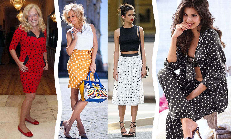 Aposte nas bolinhas! Produtora de moda ensina a usar os clássicos em seu favor para compôr looks atemporais