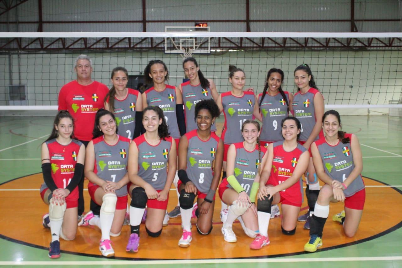 Equipe limeirense de voleibol se classifica para final do 1º Jogos Estaduais Infantil