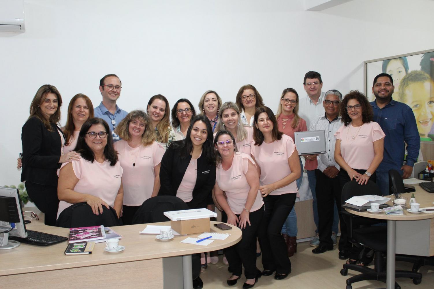 Prefeitura recebe equipe da Secretaria de Educação de Jundiaí e apresenta o projeto Google for Education