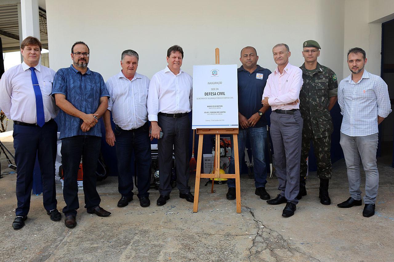 Inaugurada nova sede da Defesa Civil no bairro Boa Vista em Limeira