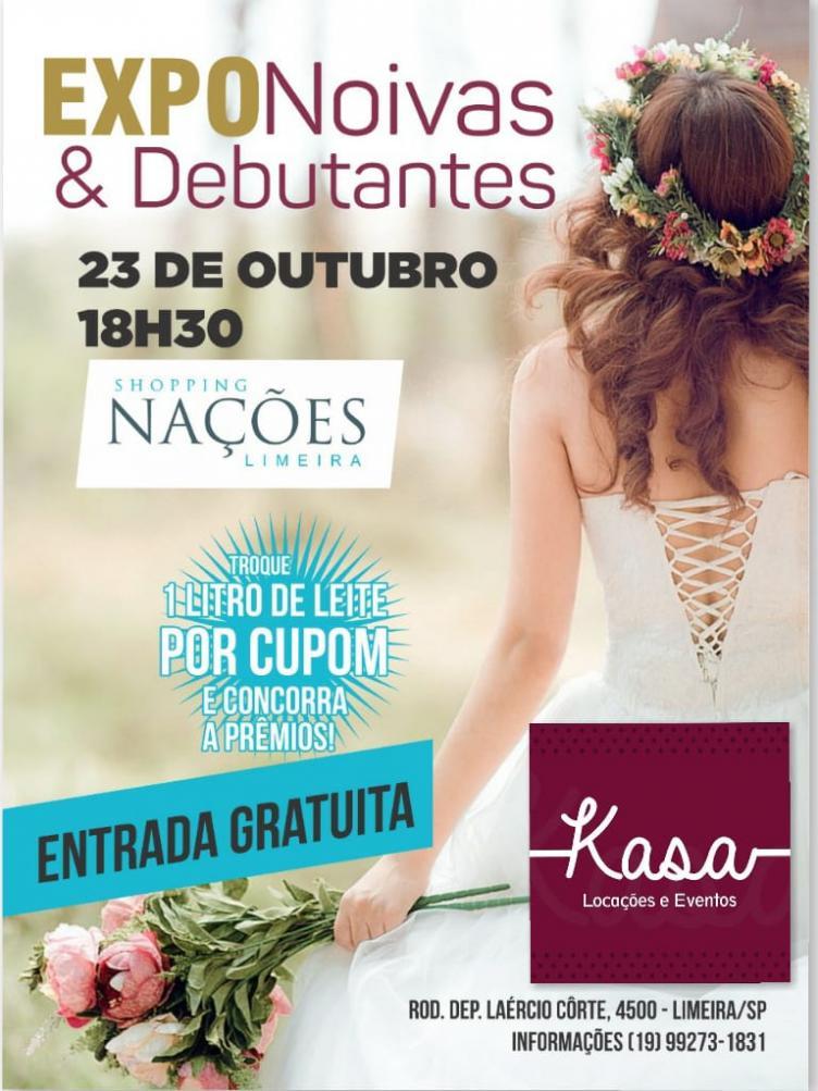 Shopping Nações recebe a 3ª EXPONoivas & Debutantes