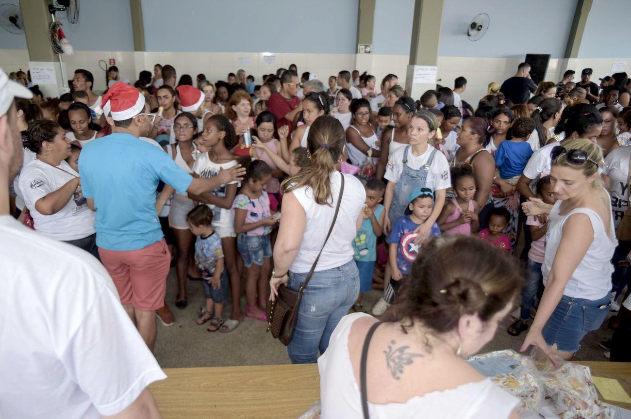 Ação social na zona leste paulistana realiza natal solidário para 500 crianças no Projeto vida criança