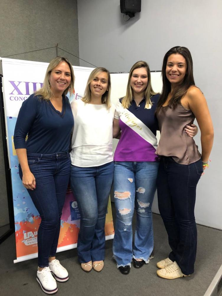 Andréa, Jéssica, Thais e Júlia