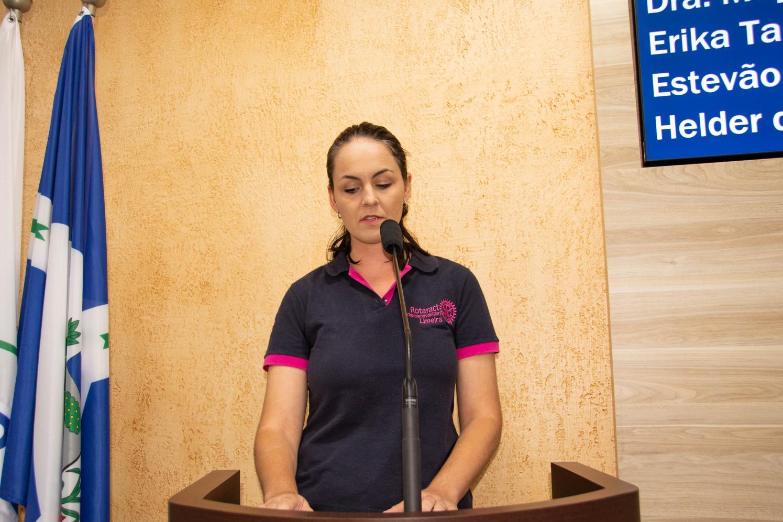 Presidente do Rotaract Clube de Limeira fala em trabalho voluntário na Tribuna Livre