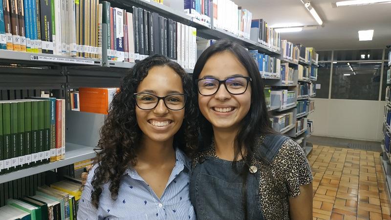 Letícia Costa de Oliveira e Letícia Machado