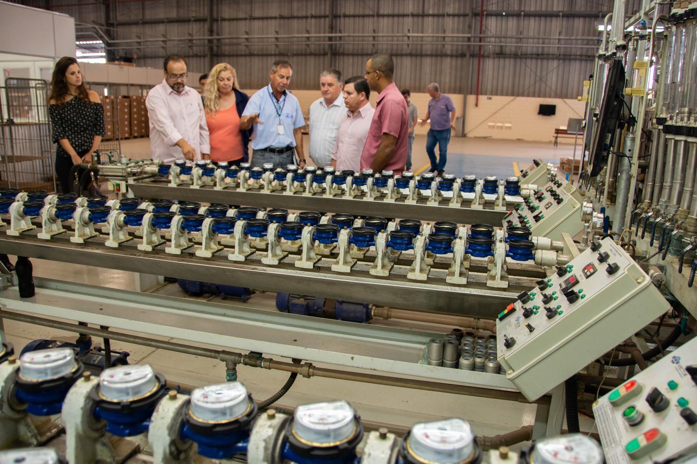 CPI em Limeira realiza diligência para conhecer aferição de hidrômetros