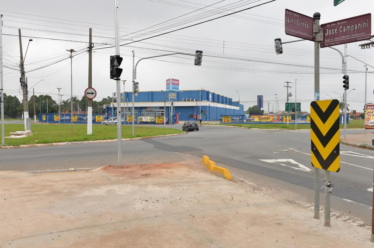 Testes em semáforos da rotatória do Aeroporto em Limeira começam na próxima semana