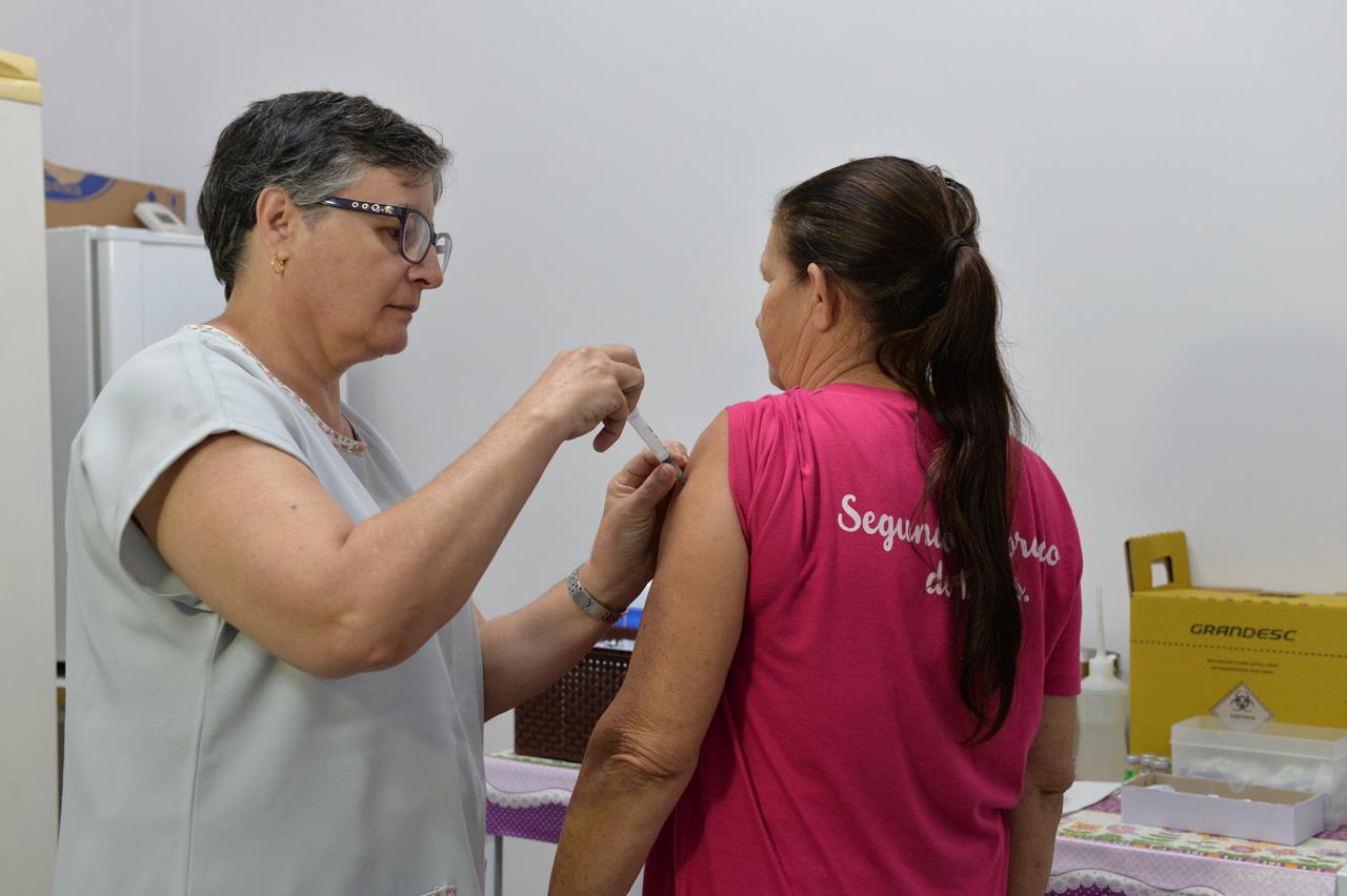 Campanha já vacinou 7.042 contra gripe em Limeira