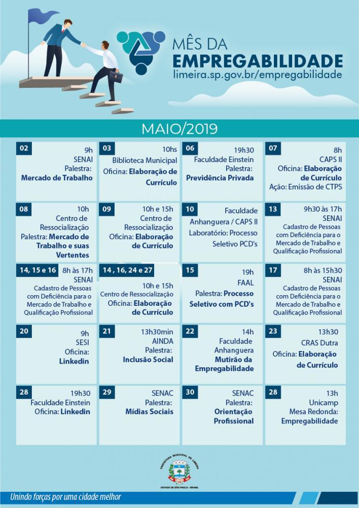 9aa5bb554cfa A Prefeitura de Limeira, por meio da Secretaria de Desenvolvimento, Turismo  e Inovação, abre, na quinta-feira (2), a segunda edição do Mês da ...