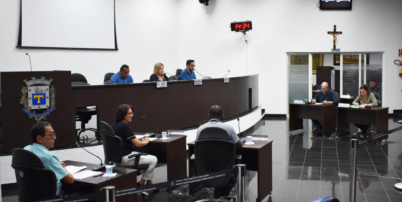 Vereadores de Cordeirópolis indicam por melhorias em bairros da cidade
