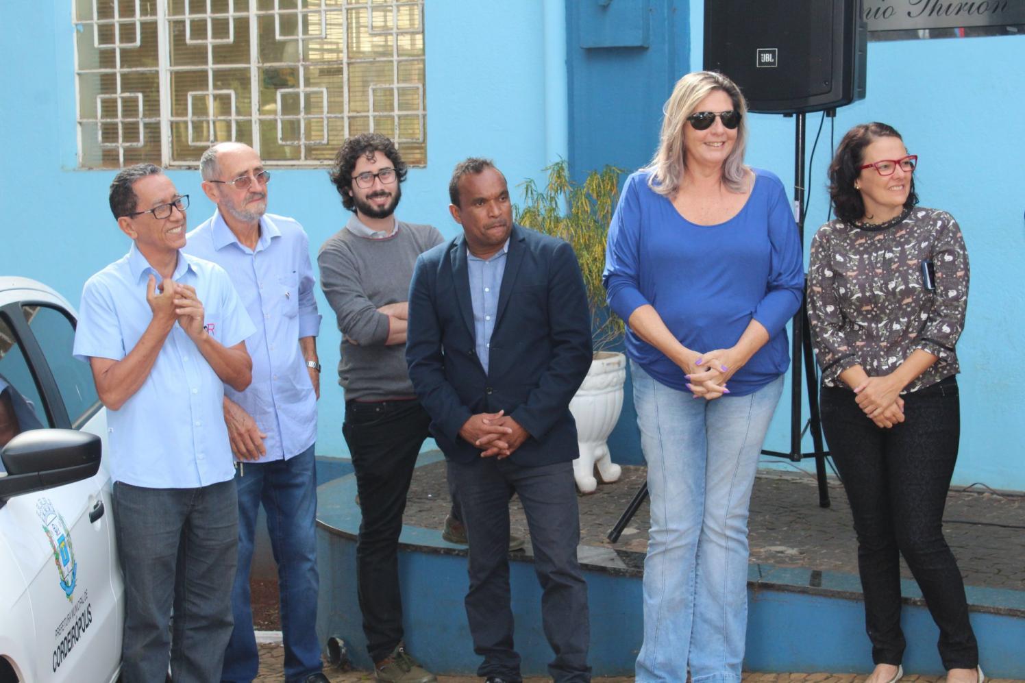 14º veículo é entregue para a Saúde de Cordeirópolis