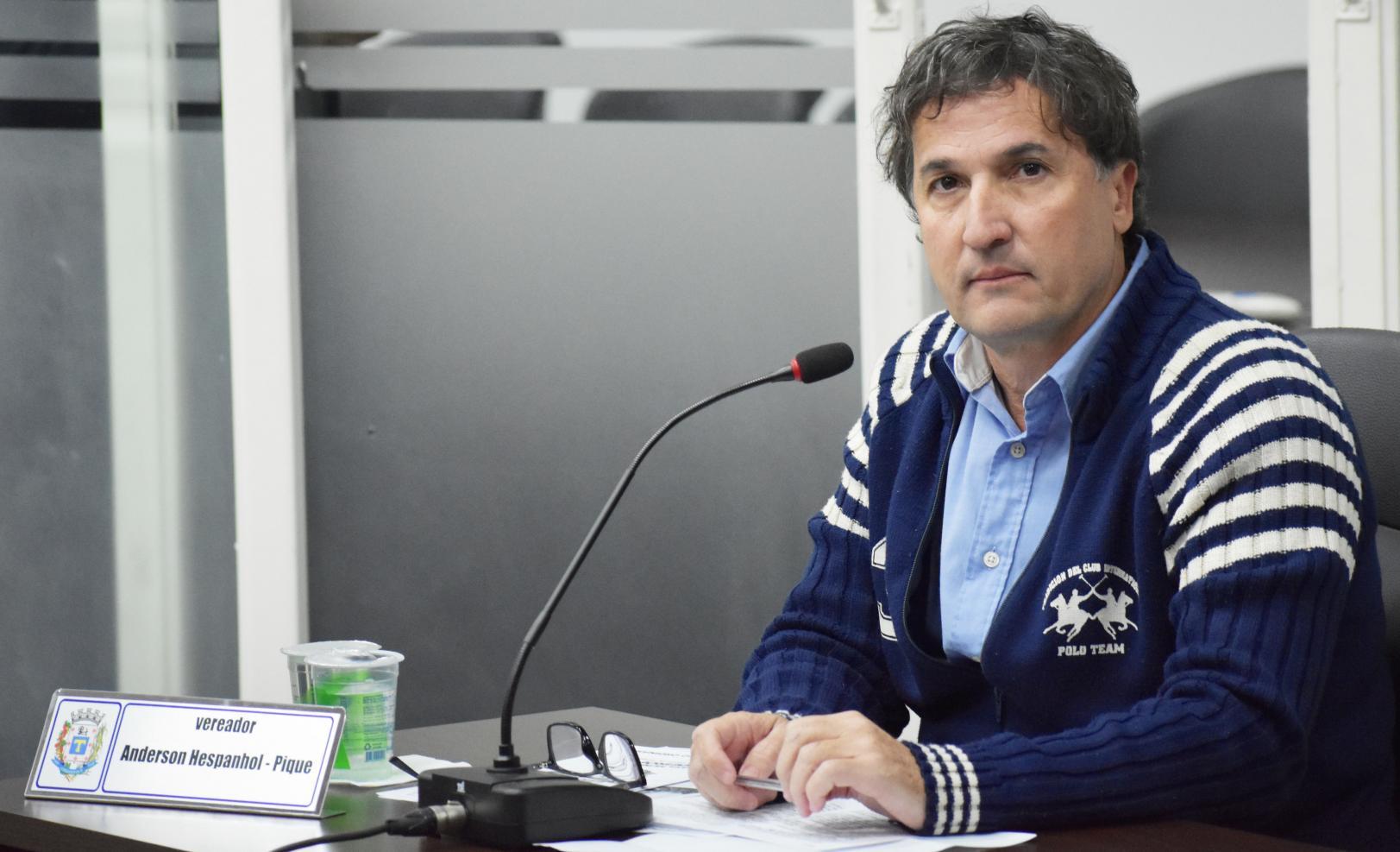 Vereador Anderson Antônio Hespanhol (PPS)