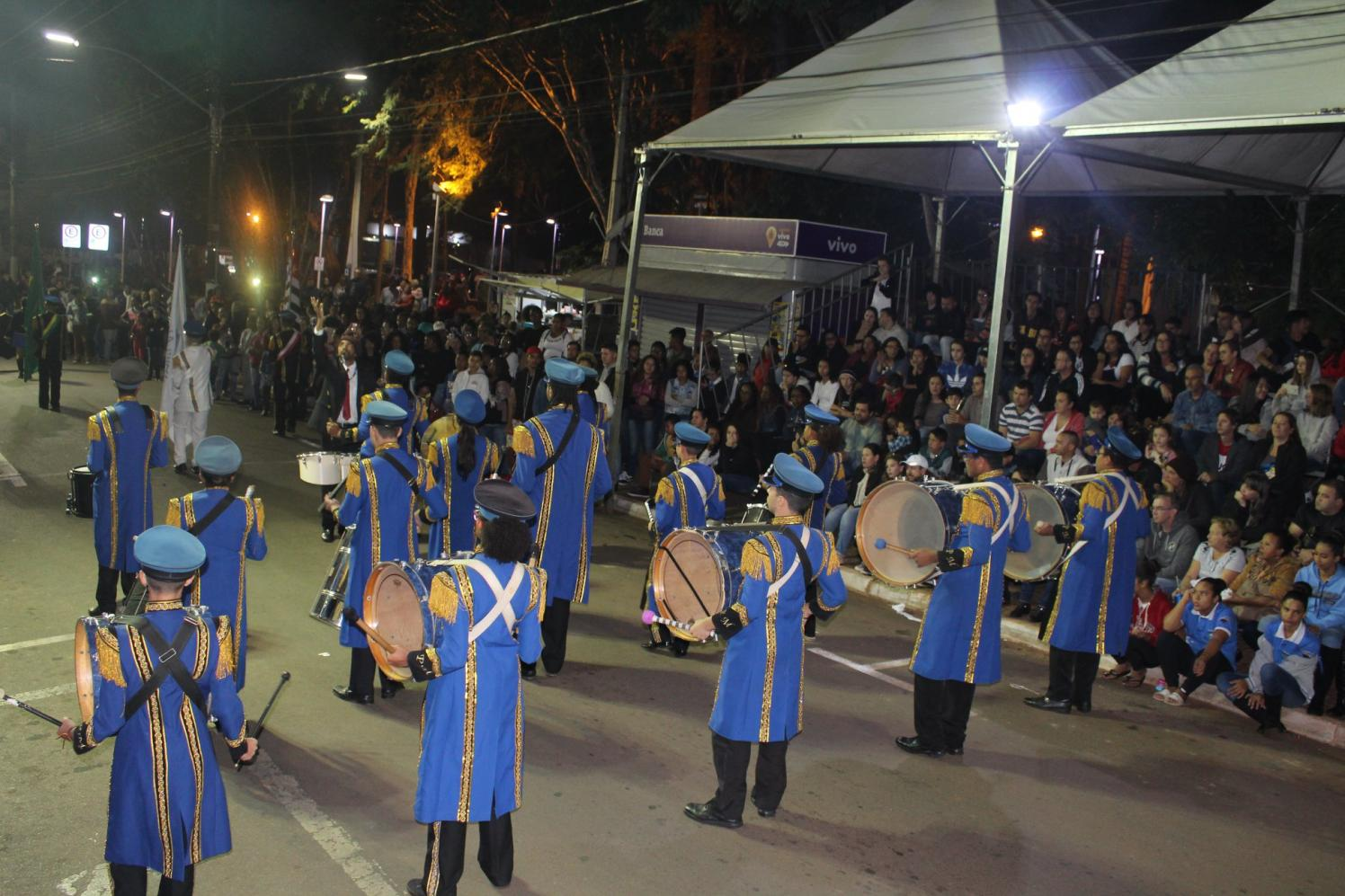 Bandas de vários estados participam do 11º Concurso de Bandas e Fanfarras