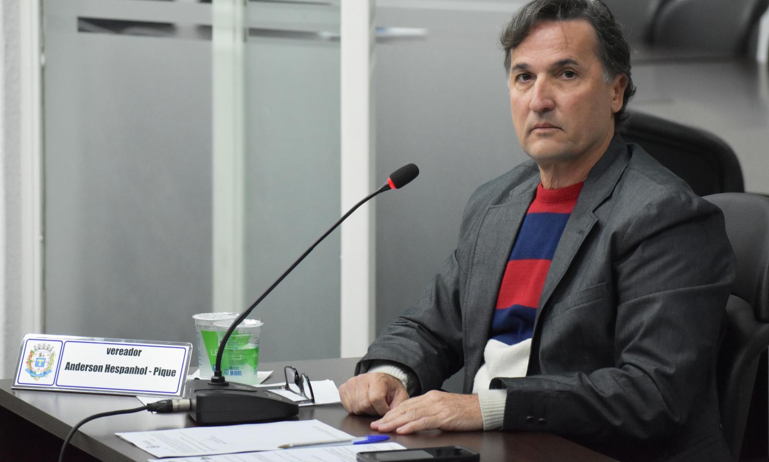 Vereador Anderson Antonio Hespanhol (PPS)