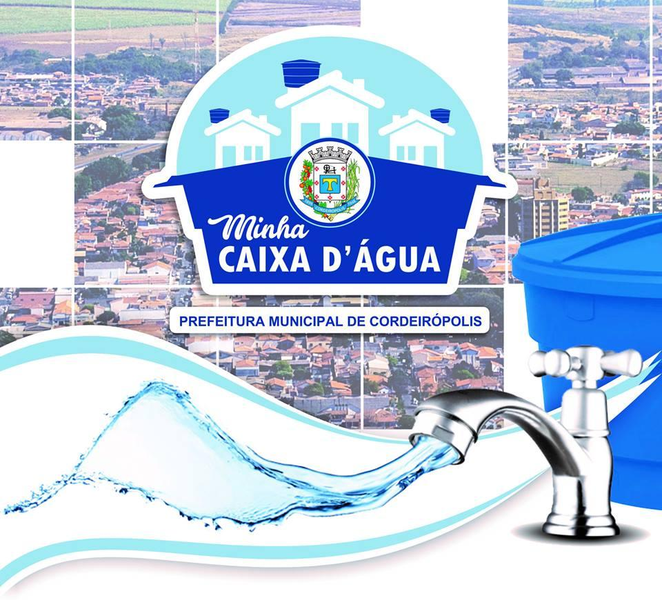 Você já ouviu falar do Programa Minha Caixa D'Água?