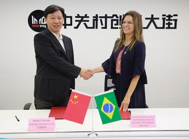 Governo assina acordo de cooperação com maior incubadora chinesa