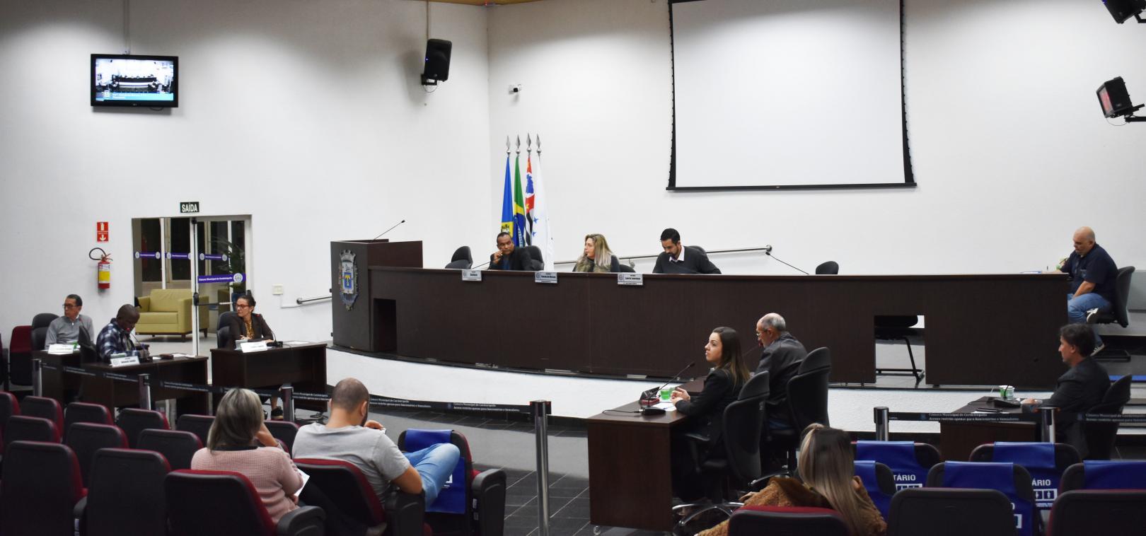 Vereadores de Cordeirópolis apresentam indicações no retorno do recesso das sessões