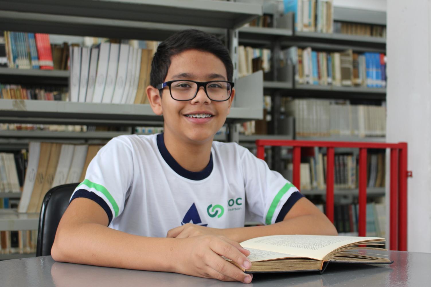 Aluno do Acadêmico classificado no projeto EPTV na Escola