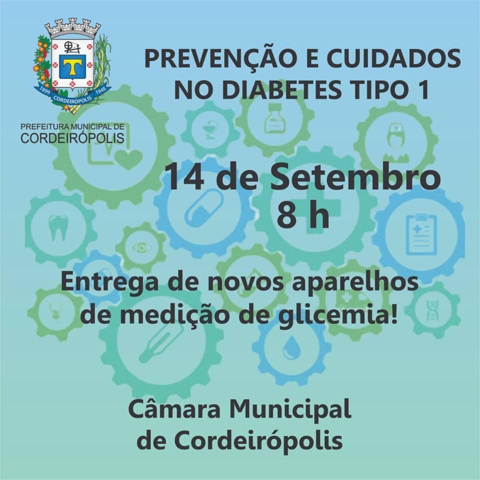 Pacientes diabéticos receberão novos aparelhos para medir a glicemia