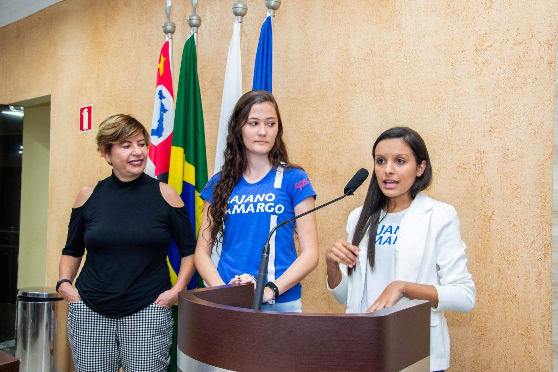 Alunas da ETEC Trajano Camargo falam sobre projeto de sustentabilidade