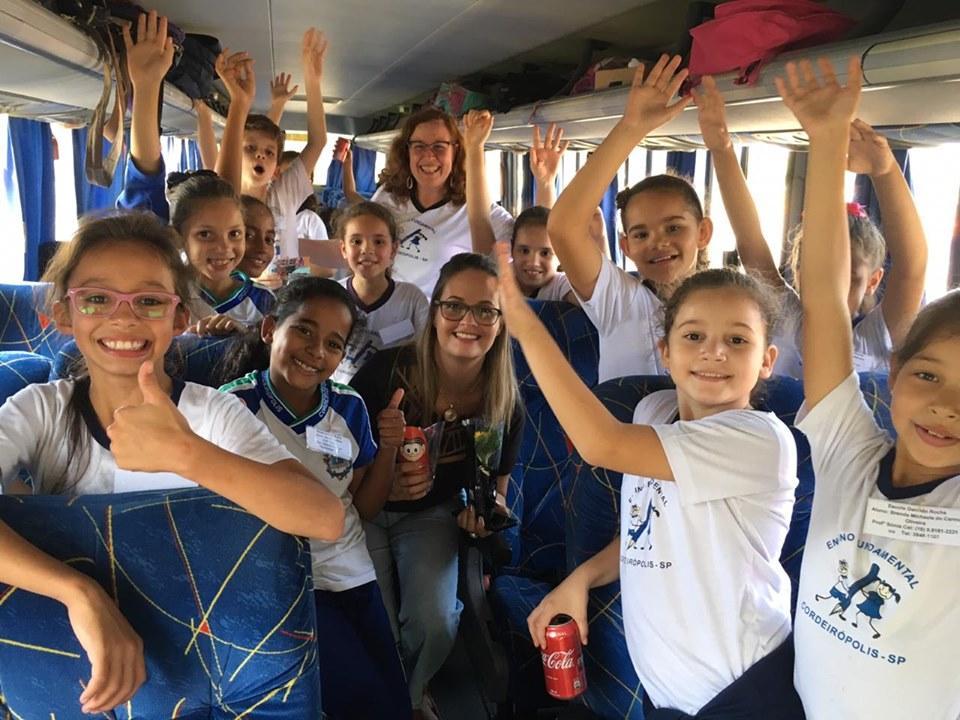 Alunos da Escola Geraldo Rocha vencem desafio da Campanha do Agasalho 2019