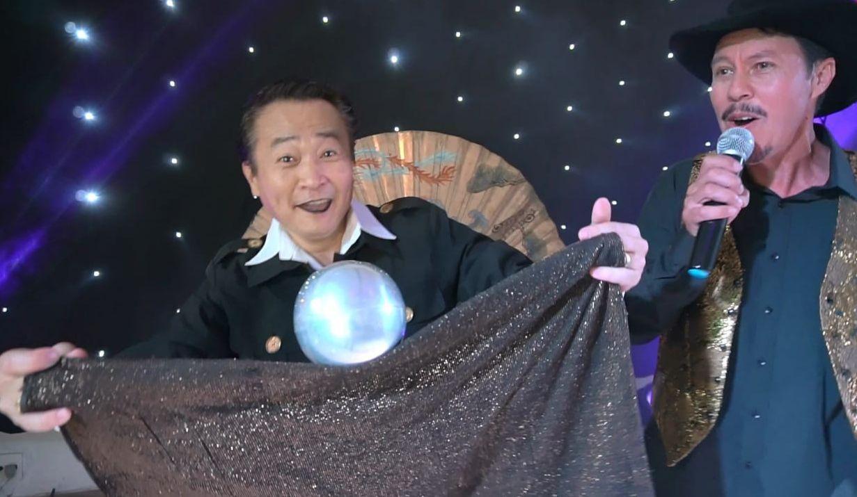 Mágico do SBT Ossamá Sato lança música do bordão 'Ih, Compricô!'