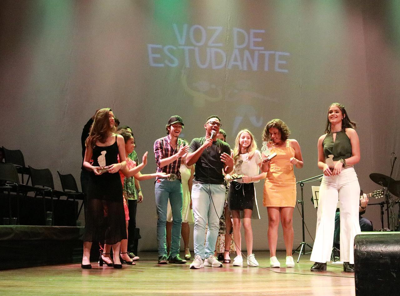 Davi Prado da Silva é a Voz de Estudante de 2019