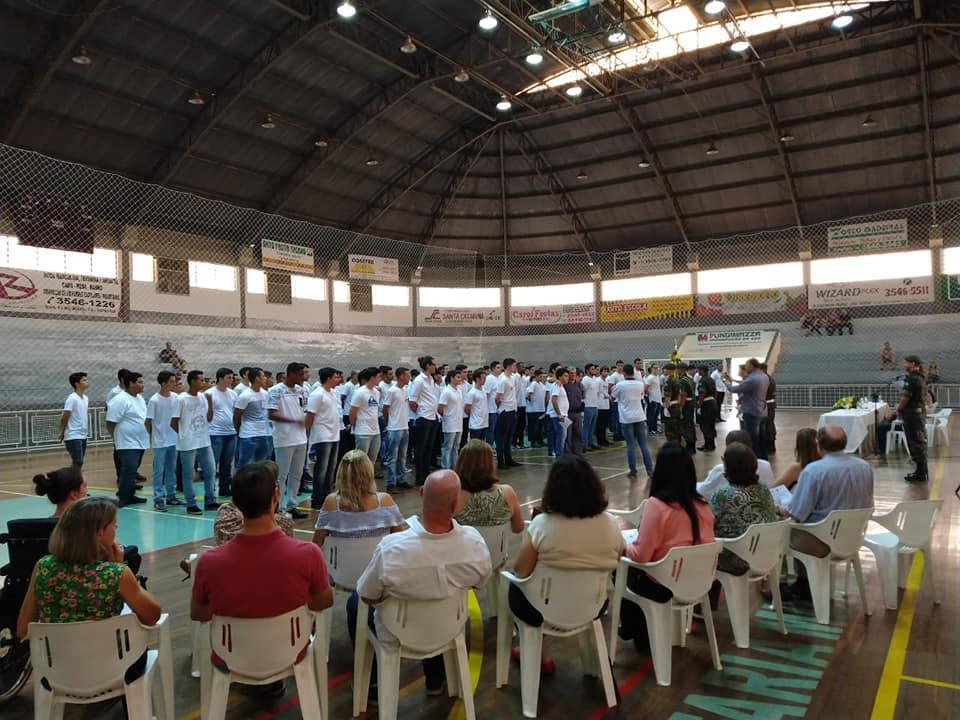 Junta do Serviço Militar realiza cerimônia para entrega de Certificado de Dispensa em Cordeirópolis