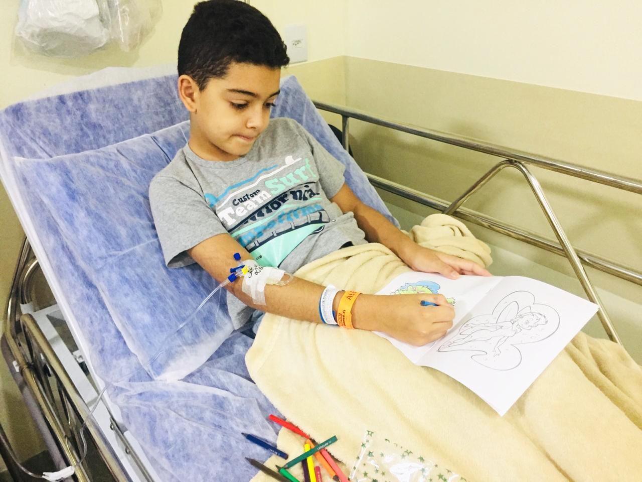 Dia das Crianças teve rotina diferente na pediatria do Hospital Unimed Limeira
