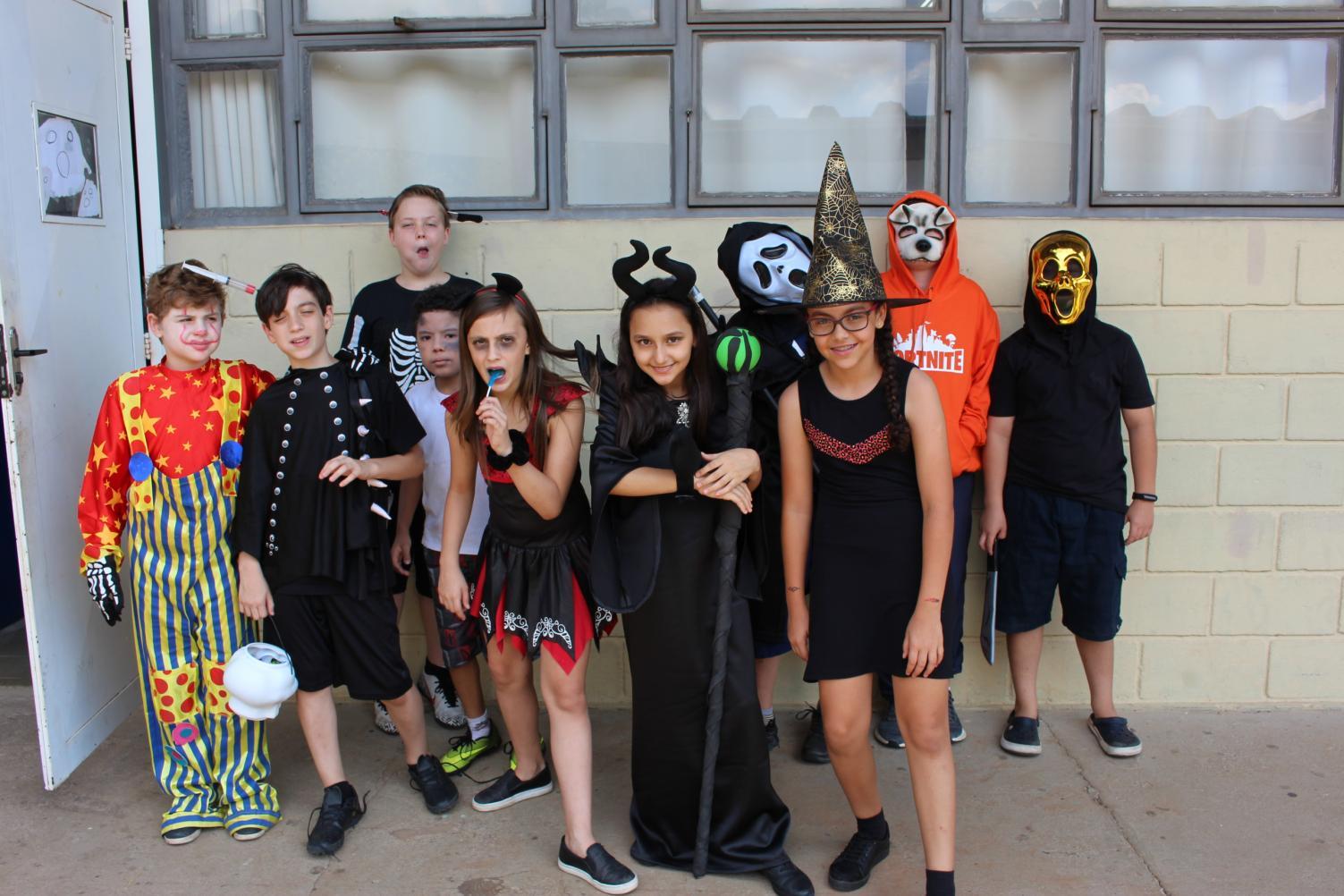 Halloween 2019 e muita criatividade  no Acadêmico em Limeira
